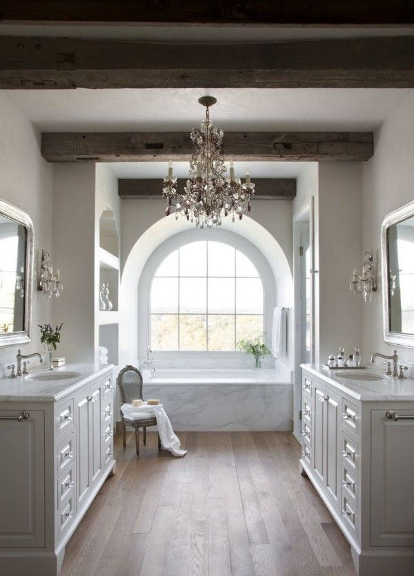 Bathroom Chandeliers Rustic remodelaholic | decorating with style ~ rustic glam