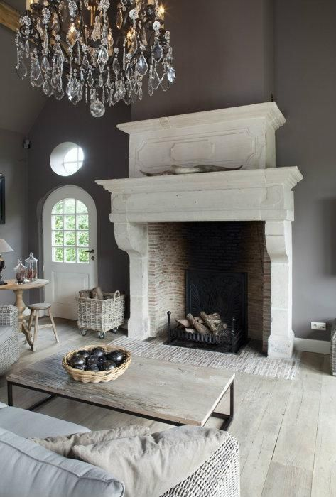 Remodelaholic decorating with style rustic glam - Rustic chic living room ...