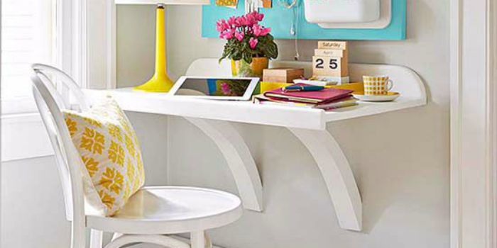 Remodelaholic Simple Diy Wall Desk