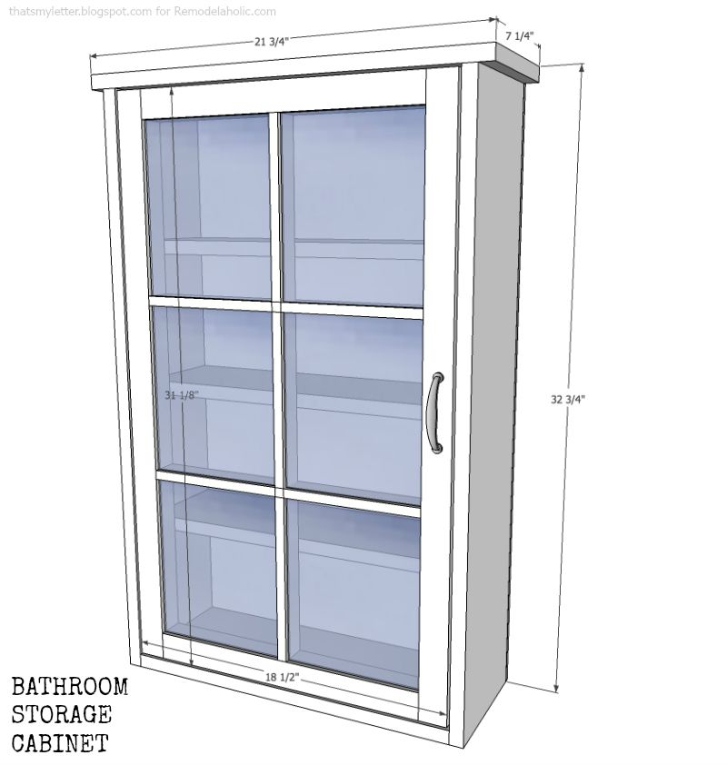 window cabinet dimensions