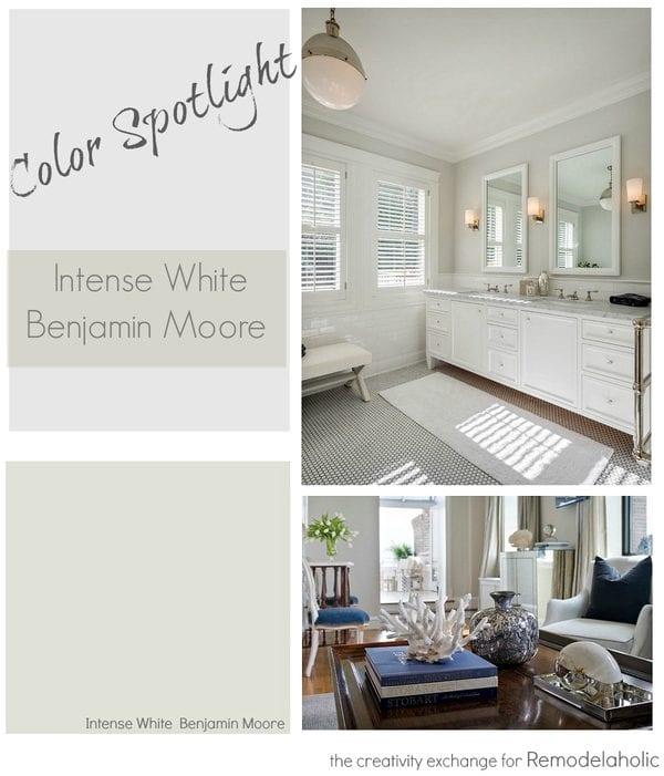 Color Spotlight Intense White From Benjamin Moore Remodelaholic