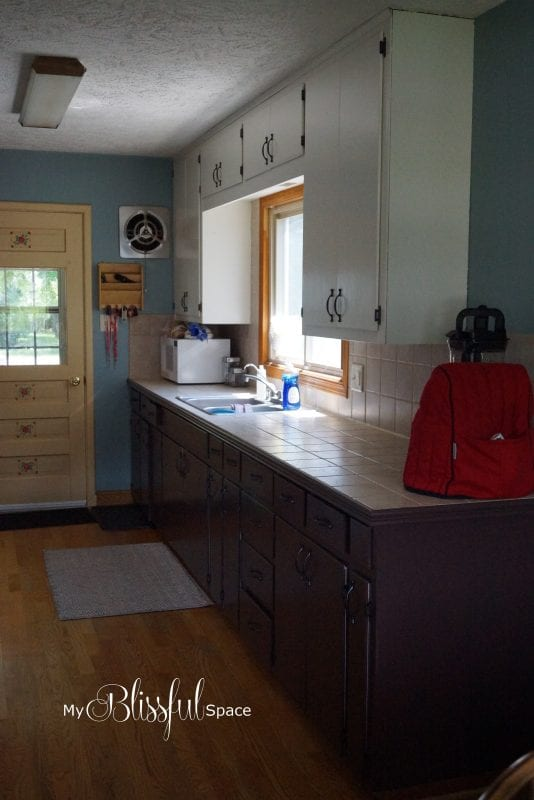 Crystal My Blissful Space painted kitchen cabinets review