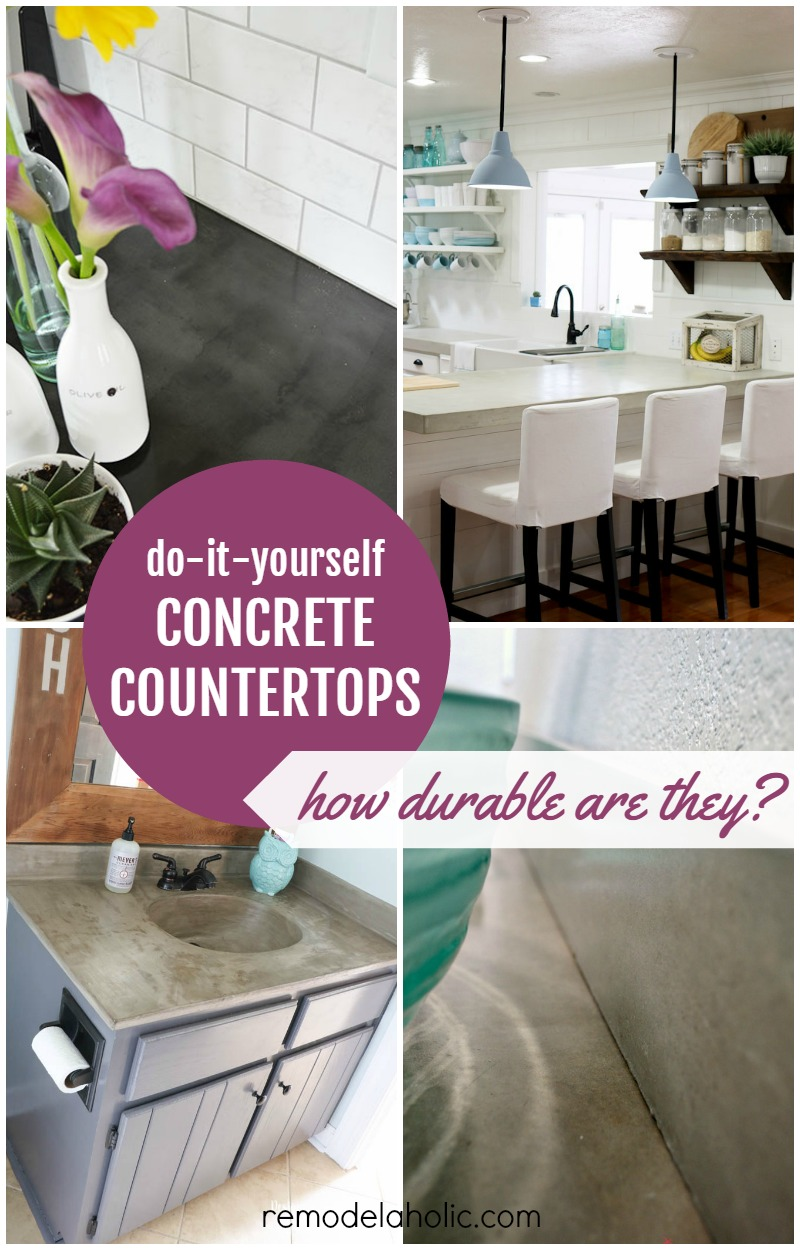 Concrete Countertops Are In Style On Trend And Within Budget See How They