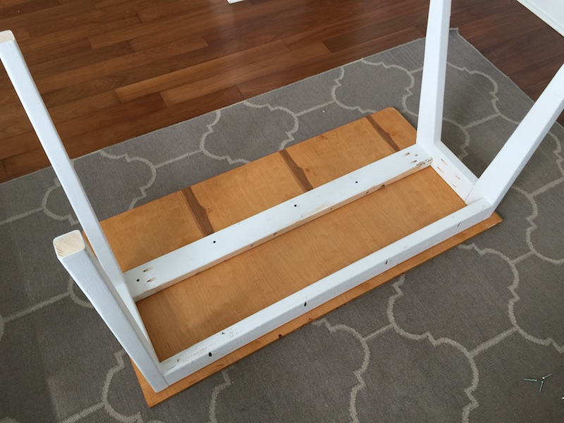 DIY Modern Lindsay Desk - Step 6
