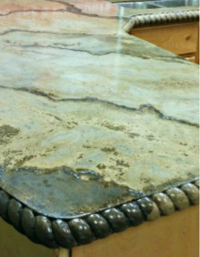 Jenise DIY Fun Ideas - DIY solid concrete countertops info and review