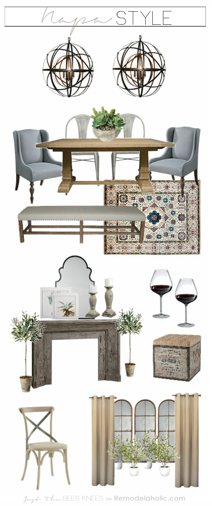 Learn To Create A Luxe Feeling In Your Own Home In A Napa Inspired Dining  Room