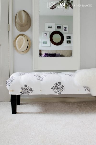 Tufted Bench from Scratch - HMC for Remodelaholic