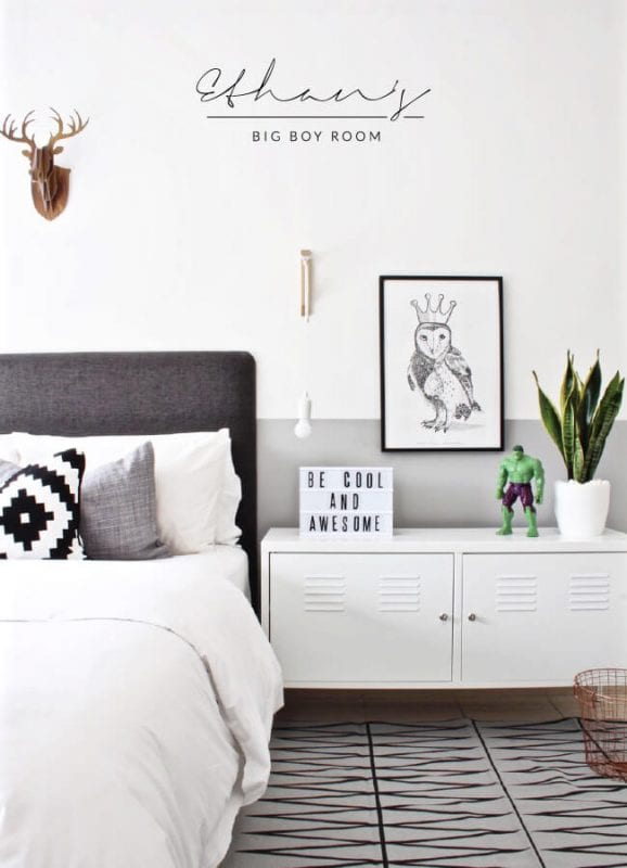 boys room makeover House of Hawkes