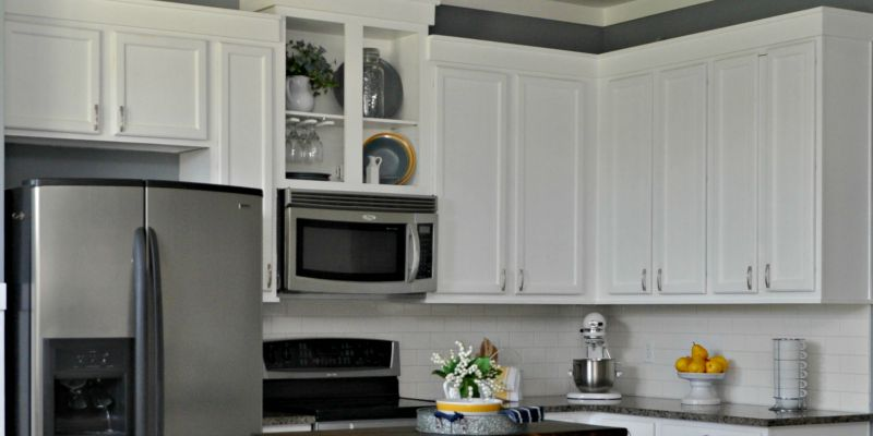 feat Corey Sawdust2Stitches white painted kitchen cabinets review