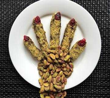 Pistachio Witches' Fingers