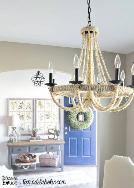 rope chandelier 16