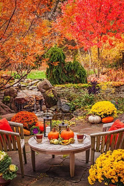 Autumn Patio Inspiration 7