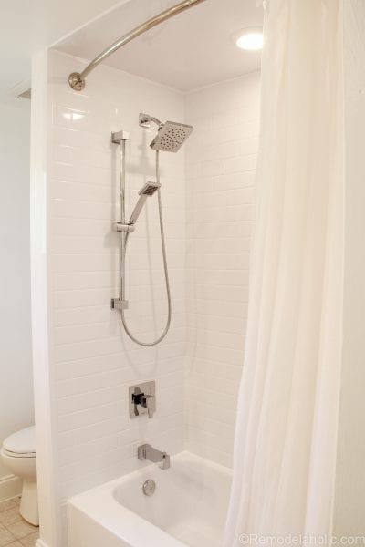 Bathroom shower tub refresh by Bath Fitters @remodelaholic (45 of 47)