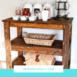 DIY Bar Carts And Accessories Featured On Remodelaholic.com