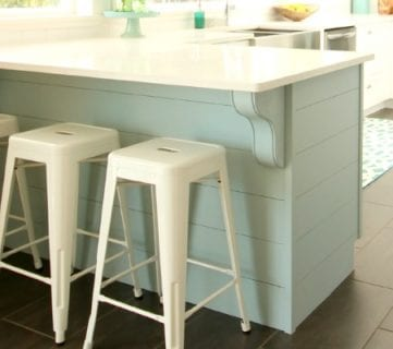 Update A Plain Kitchen Island Or Peninsula With Planks And Corbels Awesome Ideas
