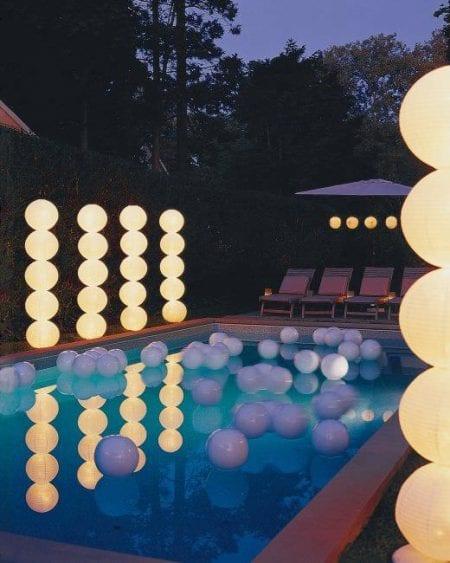 DIY light columns