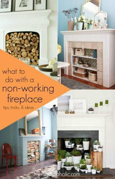 Remodelaholic | Decorating Around an Off-Center Non-Functional ...