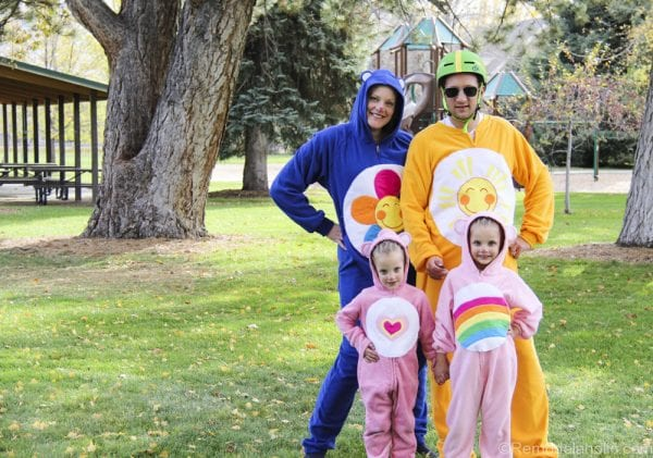 Family of Carebears Halloween costumes for families @remodelaholic (1 of 24)