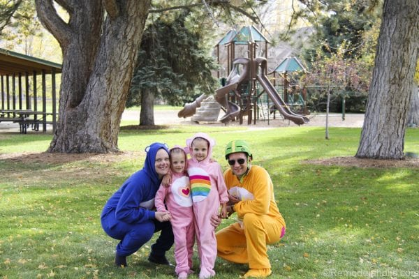 Family of Carebears Halloween costumes for families @remodelaholic (18 of 21)