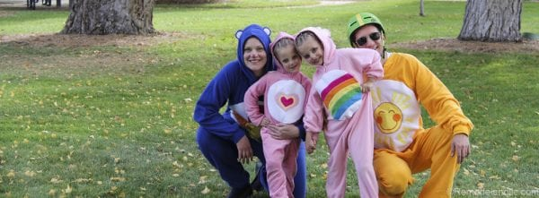 Family of Carebears Halloween costumes for families @remodelaholic (4 of 24)