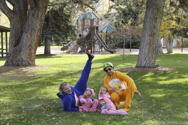 Family of Carebears Halloween costumes for families @remodelaholic (8 of 24)
