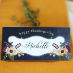 Folded Fillable Place Card Printable Thanksgiving Printable Bundle For Remodelaholic