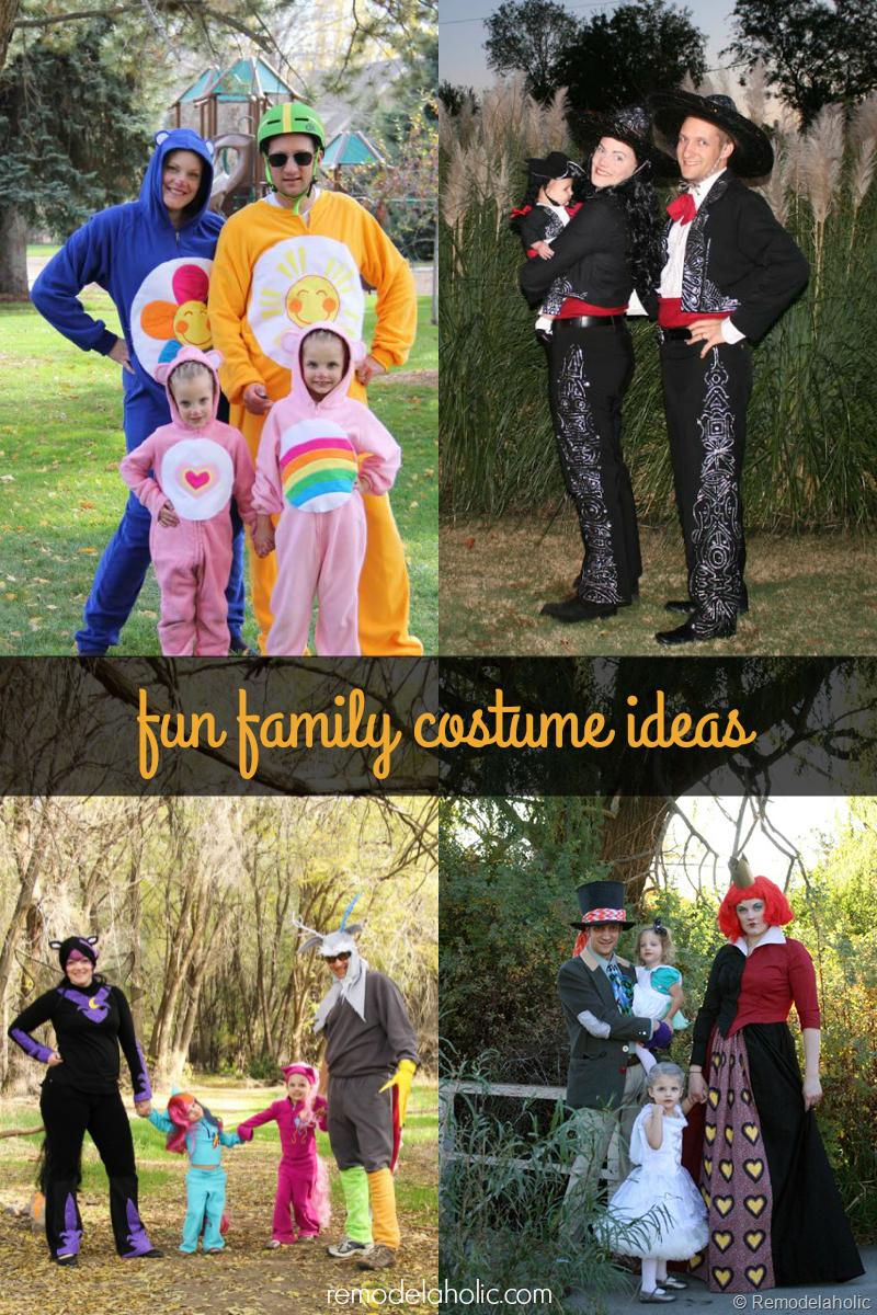 Remodelaholic | Fun Family Halloween Costume Ideas