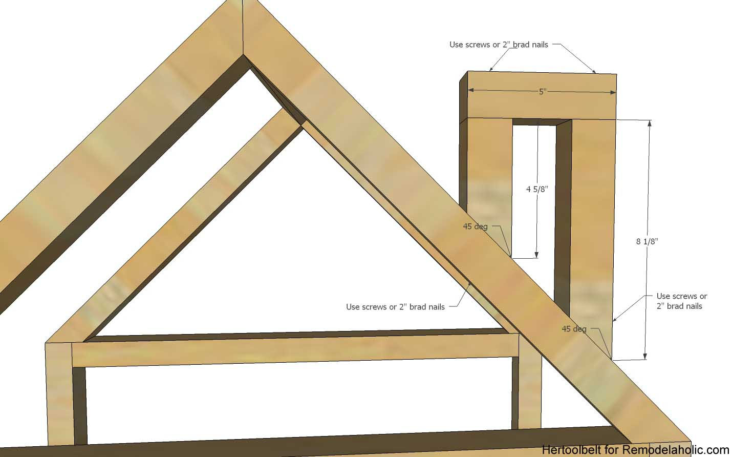 remodelaholic diy house frame bookshelf plans get organized with these adorable house frame bookshelves free and easy plans to build a