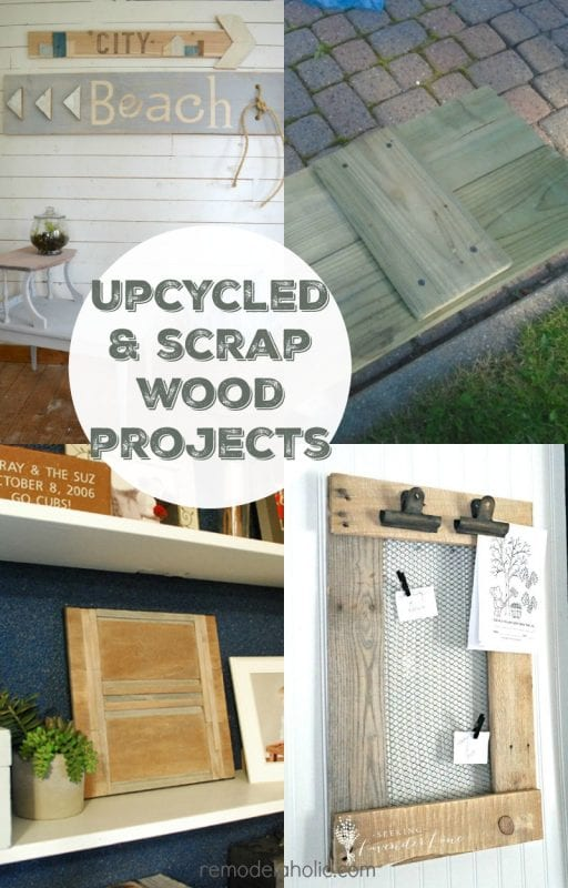 4 Reclaimed And Scrap Wood Projects Friday Features Link Party