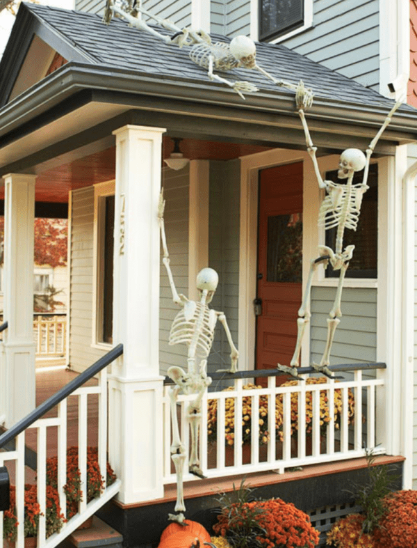 Outdoor Skeleton Decor Ideas Better Homes And Gardens
