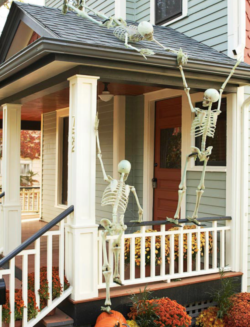 Image of: 25 Clever Outdoor Halloween Decorations Tipsaholic