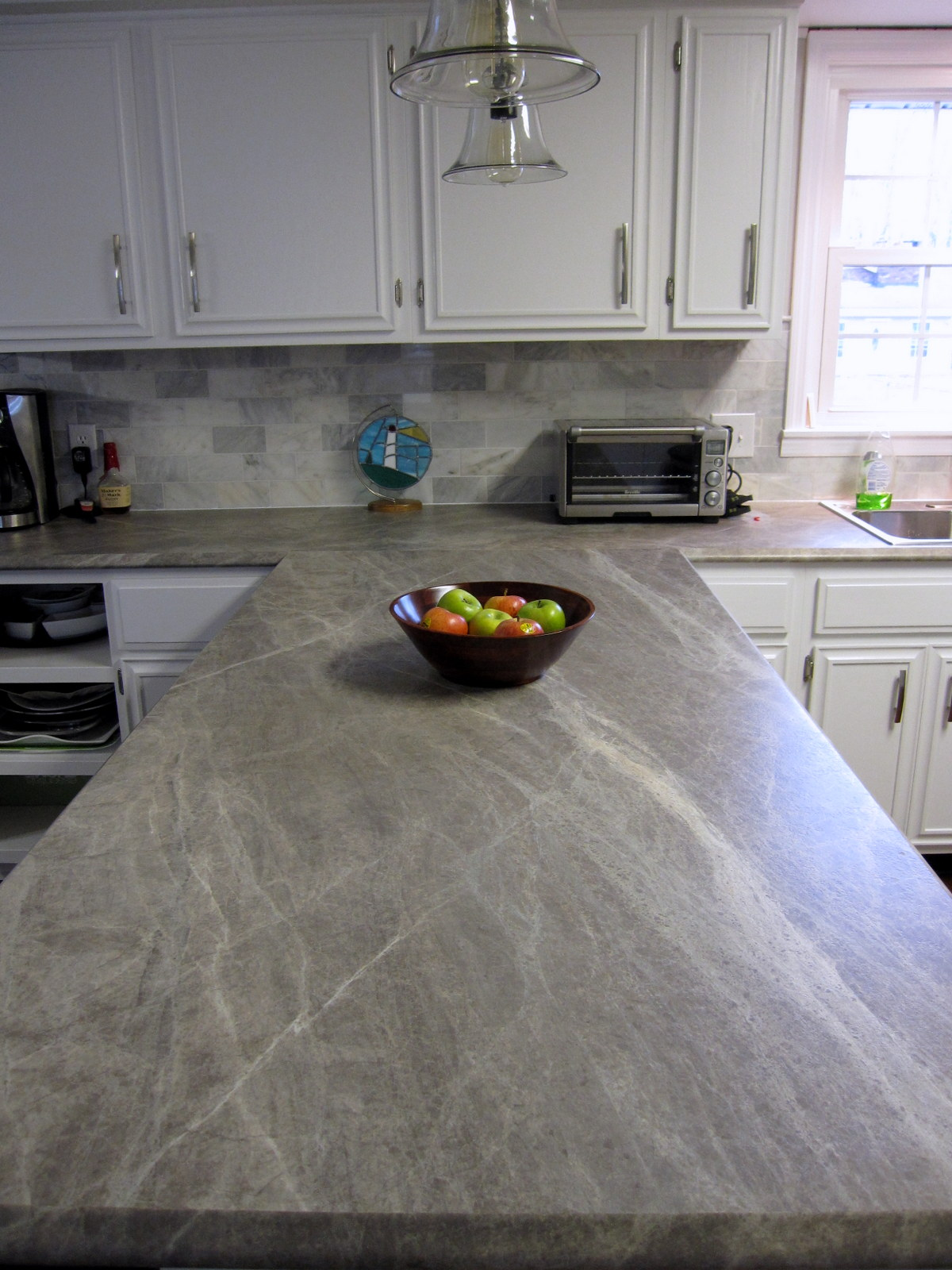 Soapstone Laminate Countertops : Remodelaholic more diy countertop reviews