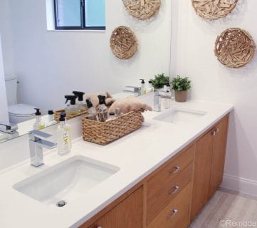 New Bathroom Faucet and First Reveal….