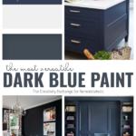 The Most Versatile Dark Blue Paint Is Hale Navy By Benjamin Moore, The Creativity Exchange On Remodelaholic