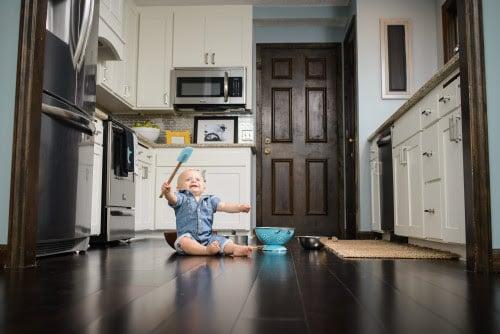 beautiful white kitchen renovation, construction2style on @Remodelaholic