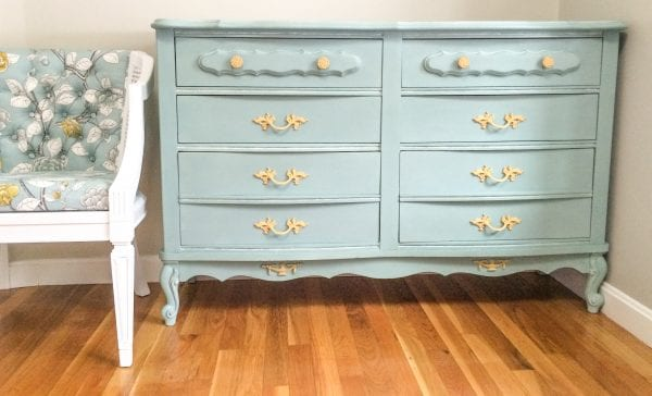 chalk painted dresser makeover Mr Wilson and Me