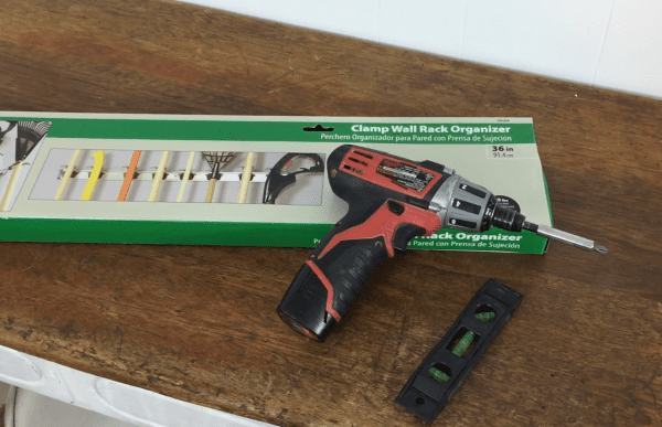 clamp for wall
