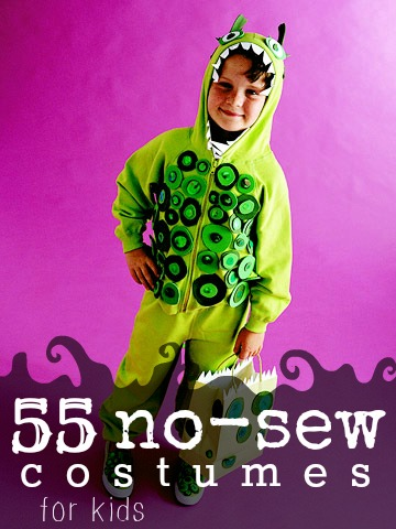55 Amazing No-Sew Costumes For Kids - Tipsaholic