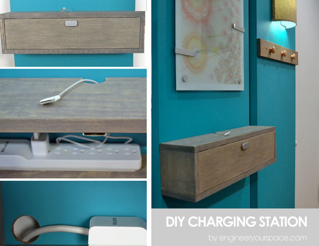 Remodelaholic Get Rid Of Cord Clutter With These 25 Diy