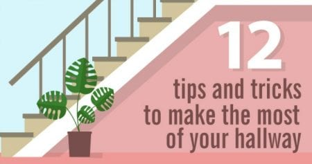 fb Make the most of your hallway - how to decorate and accessorize your hall to be beautiful and functional