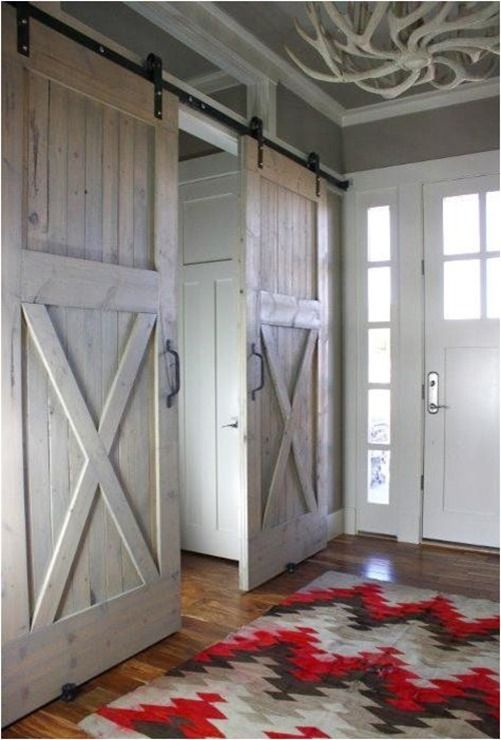 Modern meets farmhouse style. This is great!
