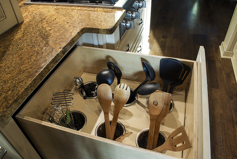 How To Turn A Deep Drawer Into An Organized Utensil Queen Bee Of Honey