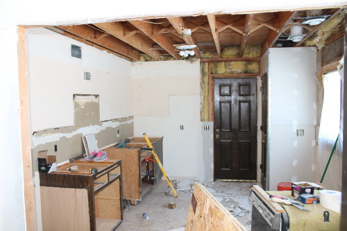 kitchen remodel, construction2style on @Remodelaholic
