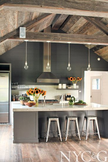 Modern Farmhouse Kitchen remodelaholic | a modern farmhouse kitchen