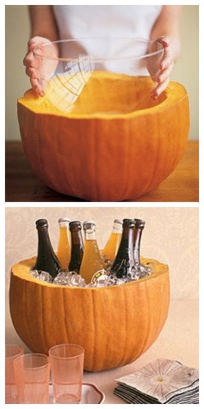 pumpkin drink cooler Martha Stewart
