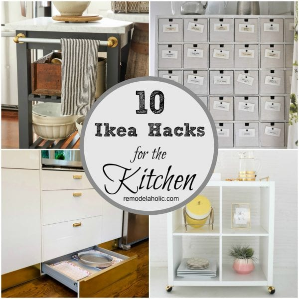 Http Www Remodelaholic Com Ingenious Ikea Hacks For The Kitchen
