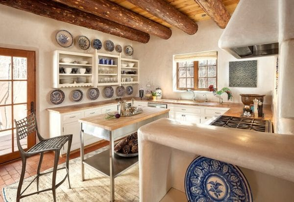 rustic modern southwest kitchen by Violante & Rochford Interiors, photo credit © Wendy McEahern
