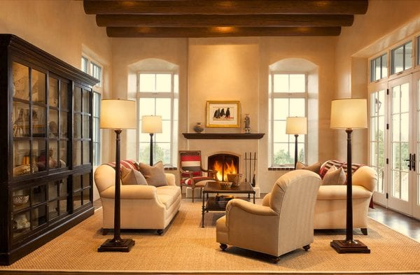 Comfortable Southwestern Living Room By Violante U0026 Rochford Interiors,  Photo Credit © Wendy McEahern