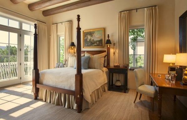elegant bedroom by Violante & Rochford Interiors, photo credit © Wendy McEahern