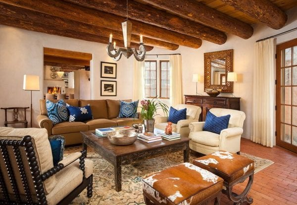 remodelaholic inspiration file modernized southwest country homes. Black Bedroom Furniture Sets. Home Design Ideas